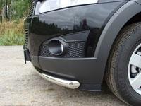 Защита бампера передняя нижняя (нерж.сталь, труба 60.3мм)