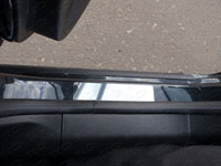 Накладки на пороги (нерж.лист, зеркальный)