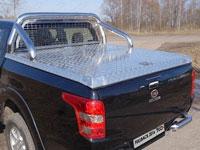 Защита кузова и заднего стекла (нерж.сталь, труба 76.1мм)