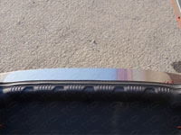 Накладка на задний бампер (нерж.лист, шлифованный)
