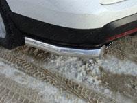 Защита бампера задняя - уголки (нерж.сталь, труба 76.1мм)