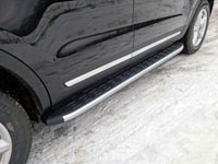 Пороги алюминиевые с пластиковой накладкой (1920мм)