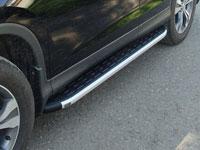 Пороги алюминиевые с пластиковой накладкой (1720мм)