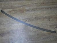 Накладка на задний бампер (нерж.лист, зеркальный)