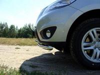 Защита бампера передняя нижняя (нерж.сталь, трубы 60.3мм/50.8мм)