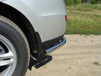 Защита бампера задняя - уголки (нерж.сталь, труба 60.3мм)
