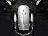 Защита КПП и раздатки (алюминий, 4 мм)