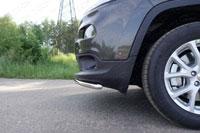 Защита бампера передняя нижняя (нерж.сталь, труба 42.4мм)