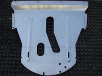 Защита картера (алюминий, 4 мм)