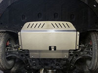 Защита картера и КПП (алюминий, 4 мм)