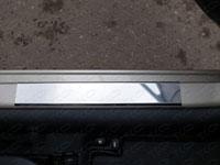 Накладки на пороги (нерж.лист, шлифованный)