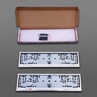 Рамки номерного знака (комплект, нерж.сталь)