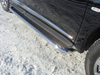 Пороги с площадкой (нерж.труба 42.4мм, нерж.лист)